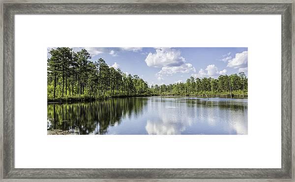 Pool H Panorama 02 Framed Print