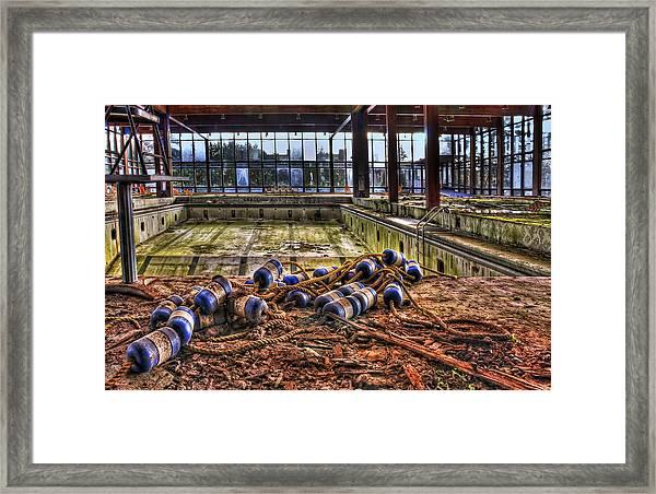 Pool Of Sorrow Framed Print