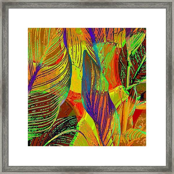 Pop Art Cannas Framed Print