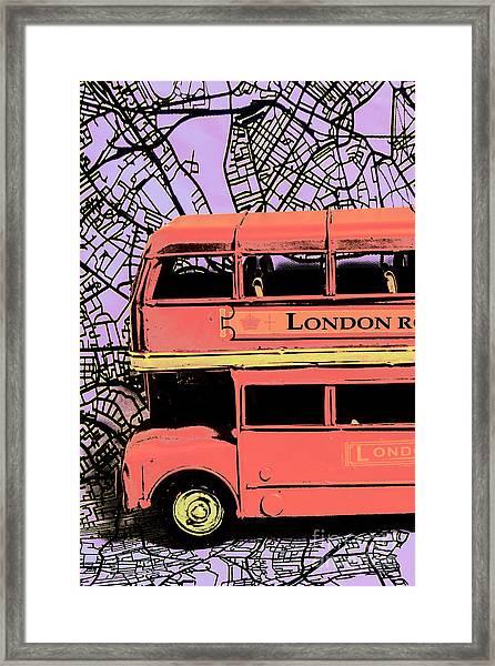 Pop Art Uk Framed Print