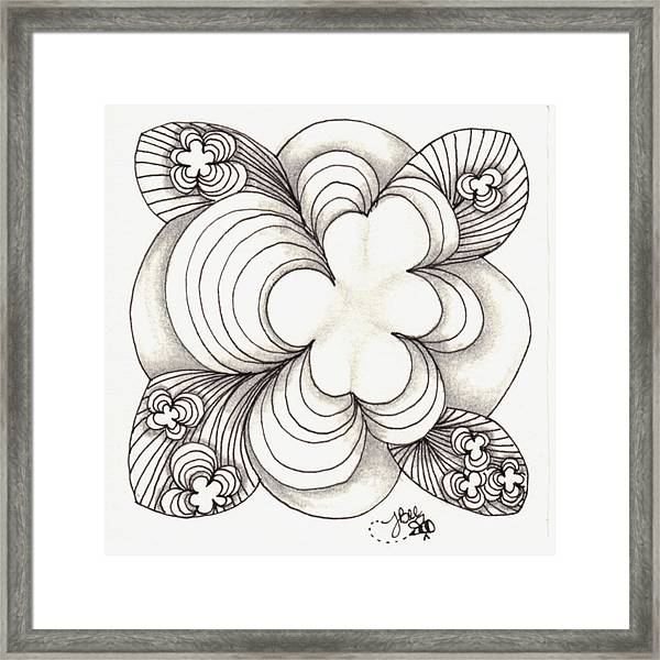Popcloud Blossom Framed Print