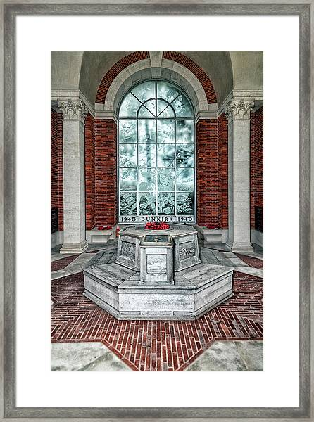 Poppies At Dunkirk Framed Print