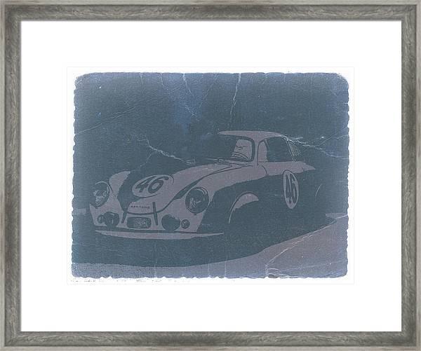 Porsche 356 Coupe Front Framed Print