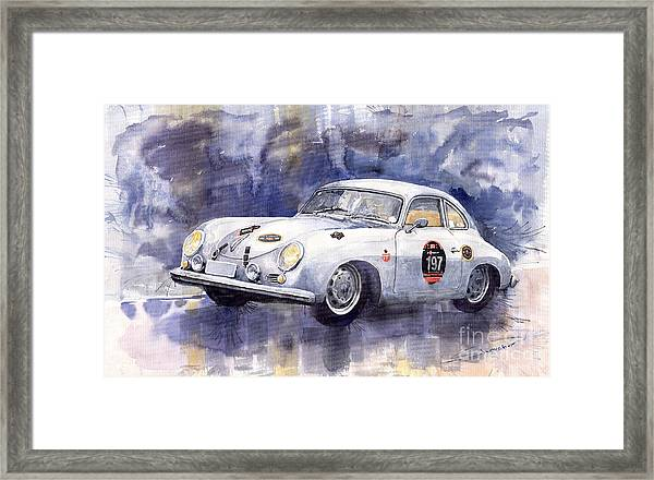 Porsche 356 Coupe Framed Print