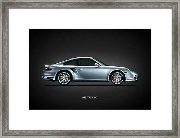 Porsche 911 Turbo Framed Print