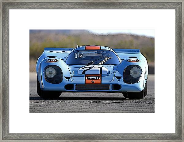 Porsche 917 Shorttail Framed Print