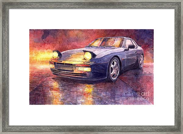 Porsche 944 Turbo Framed Print