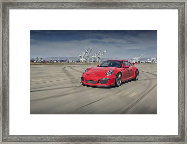 Porsche 991 Gt3 Framed Print