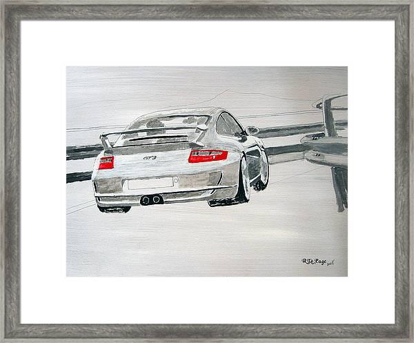 Porsche Gt3 Framed Print