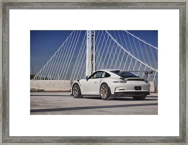 Porsche Gt3rs Framed Print