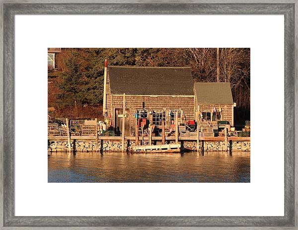 Port Clyde Life 2 Framed Print