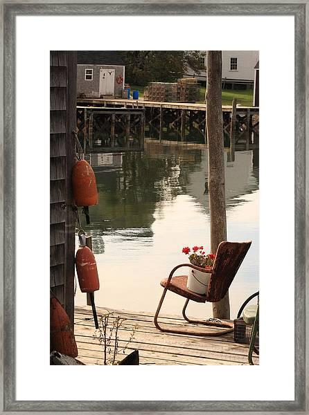 Port Clyde Life Framed Print