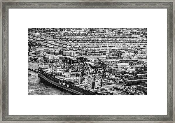 Port Everglades 1 Framed Print