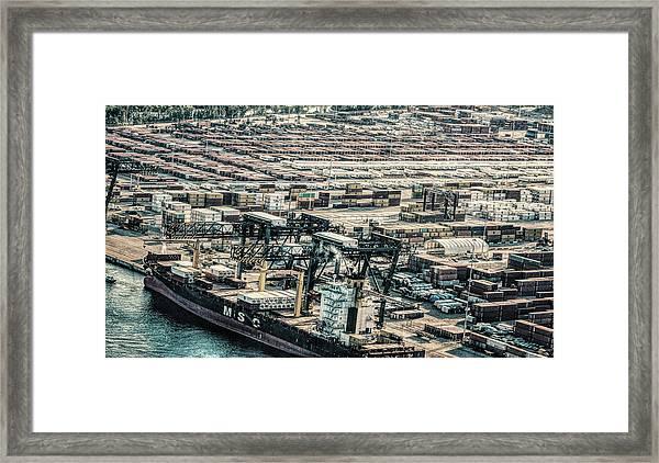 Port Everglades 2 Framed Print