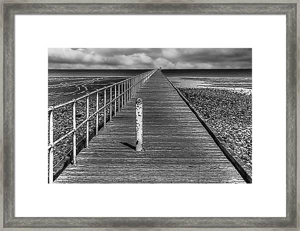 Port Germein Long Jetty Framed Print