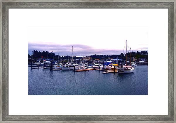 Port Of Bandon Framed Print
