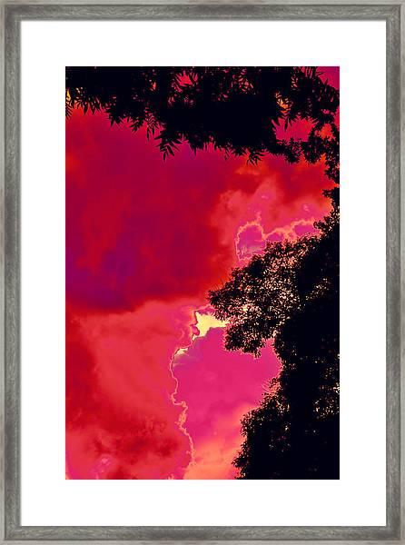 Portal Of Thunder For David Navarro 2015 Framed Print