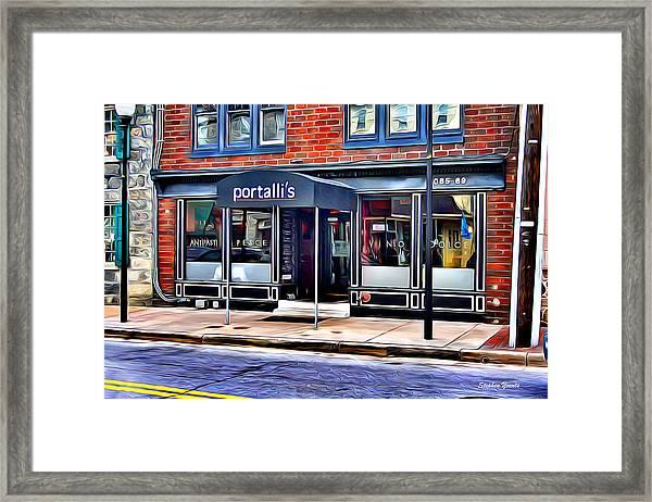 Portalli's Framed Print