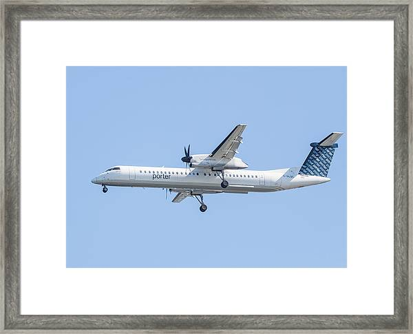 Porter Airlines Framed Print