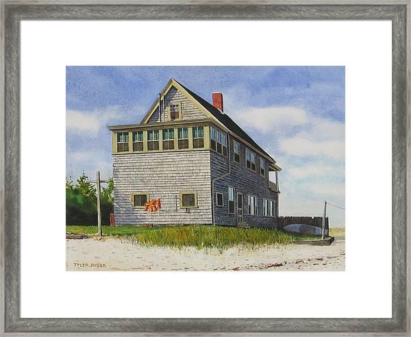 Porter House Framed Print