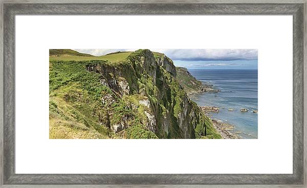 Portkill Cliffs Framed Print
