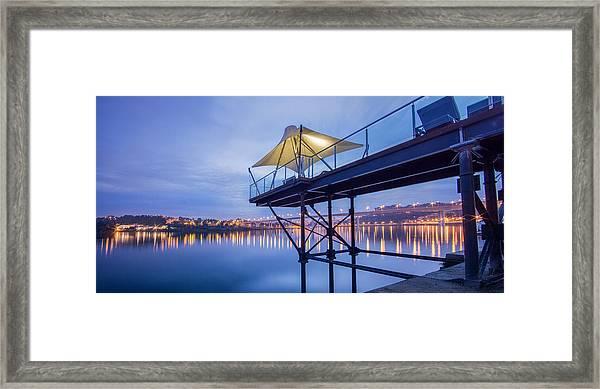 Porto Night Out Framed Print