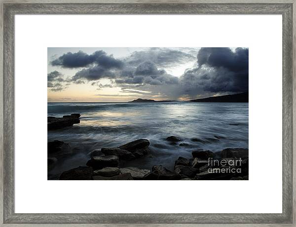 Portock Beauty Framed Print
