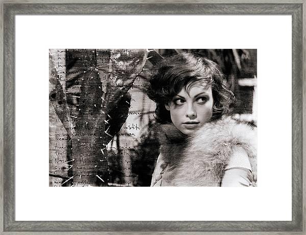 Portrait #6450 Framed Print