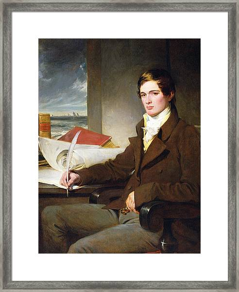 Portrait Of A Young Gentleman Framed Print
