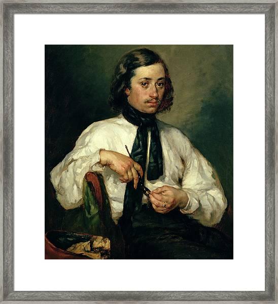 Portrait Of Armand Ono Framed Print