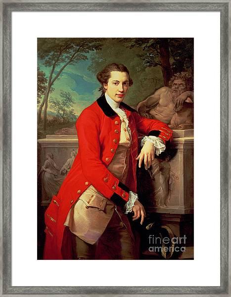Portrait Of Edmund Rolfe Framed Print