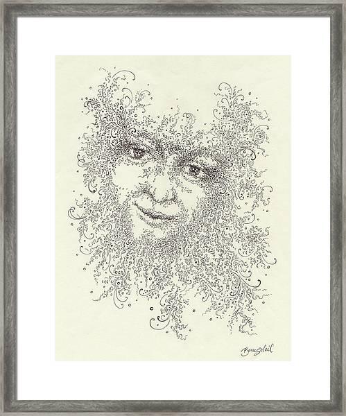 Portrait Of Eros Framed Print