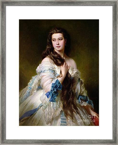 Portrait Of Madame Rimsky Korsakov Framed Print