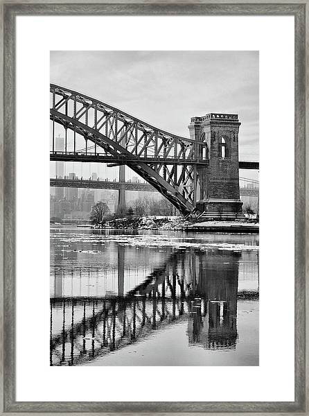 Portrait Of The Hellgate Framed Print
