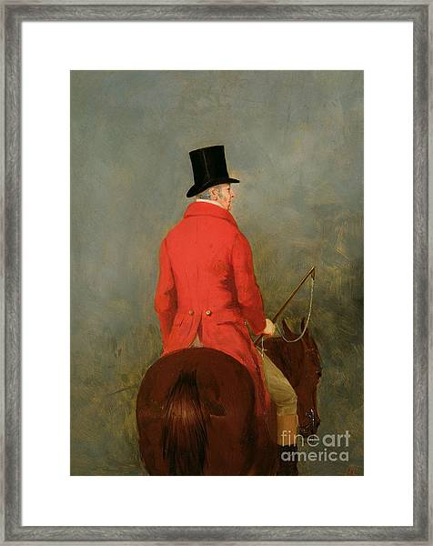Portrait Of Thomas Cholmondeley Framed Print