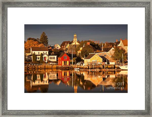 Portsmouth Reflections Framed Print