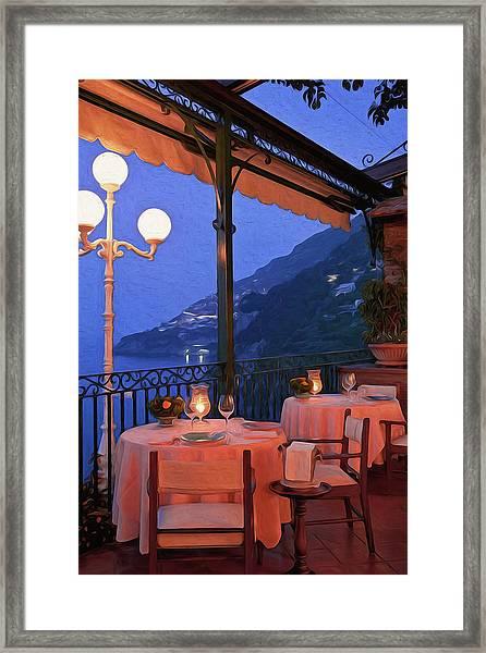Positano, Beauty Of Italy - 05 Framed Print