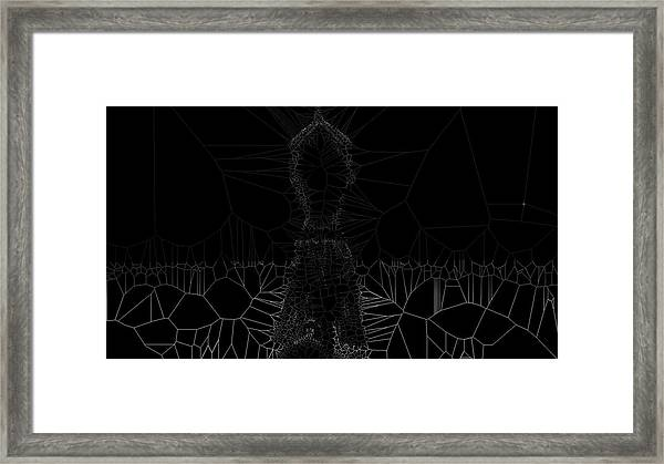 Position Framed Print