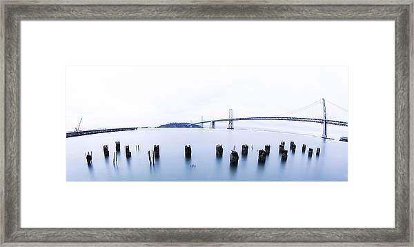 Posts Framed Print