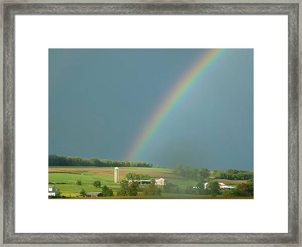 Pot Of Gold Framed Print
