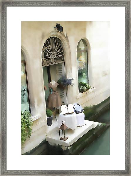 Pot Pourri Boutique Framed Print