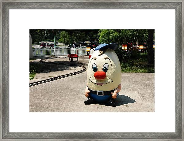 Potato Head Framed Print