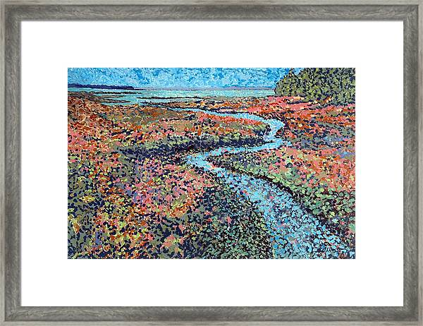 Pottery Creek Framed Print