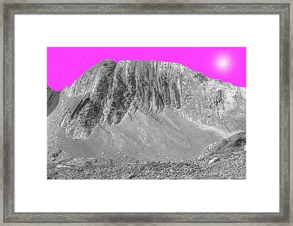 Poussiere Diaphane  Diaphanous Dust Framed Print