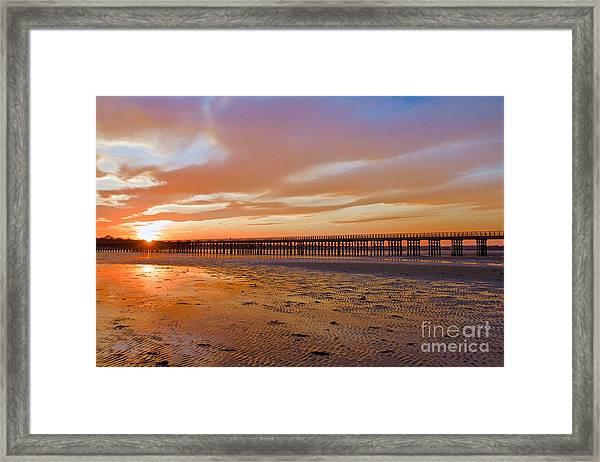 Powder Point Bridge Duxbury Framed Print