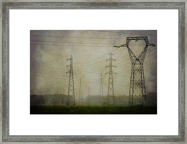 Power 5. Framed Print