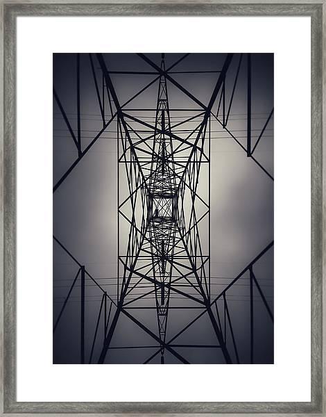 Power Above Framed Print