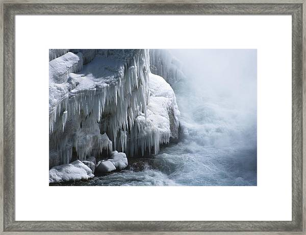 Power Has No Fear Of The Cold Framed Print