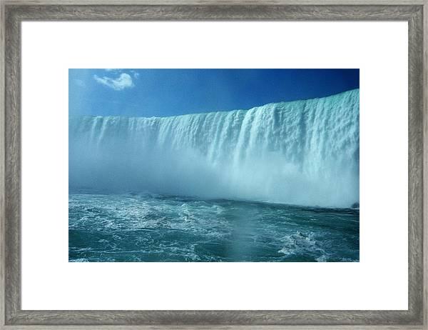 Power Of Water Framed Print
