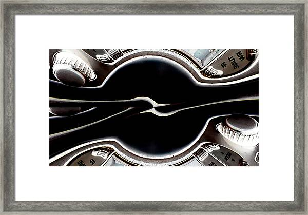 Power To The Bass Framed Print